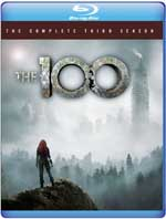 The 100: The Complete Third Season Blu-Ray Cover
