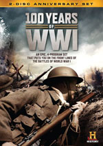 DVD Cover for 100 Years of WWI