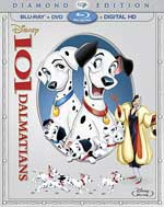 101 Dalmations Blu-Ray Cover