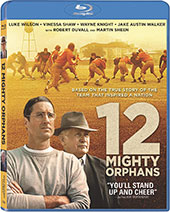 12 Mighty Orphans Blu-Ray Cover