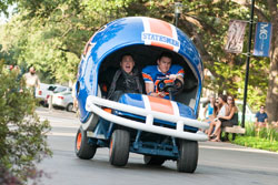 Jonah Hill and Channing Tatum show some real school spirit in the top comedy of 2014, 22 Jump Street.