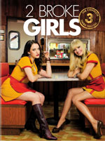 DVD Cover for 2 Broke Girls: The Complete Third Season