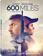 DVD Cover for 600 Miles