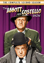 DVD Cover for The Abbott and Costello Show: The Complete Second Season