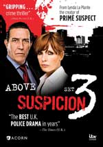 Above Suspicion Set 3 DVD Cover
