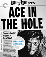 Ace in the Hole Criterion Collection Blu-Ray Cover