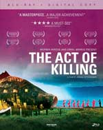 The Act of Killing Blu-Ray Cover