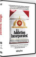 DVD Cover for Addiction Incorporated