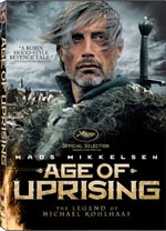 DVD Cover for Age of Uprising: The Legend of Michael Kohlhaas