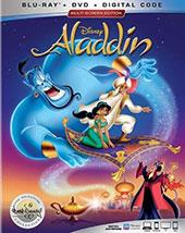 Aladdin Blu-Ray Cover