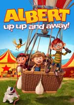 DVD Cover for Albert - Up, Up and Away