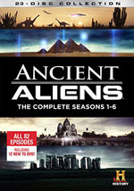 DVD Cover for Ancient Aliens Season 1-6