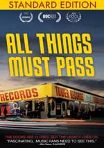 DVD Cover for All Things Must Pass