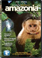 DVD Cover for Amazonia