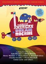DVD Cover for The Great American Dream Machine