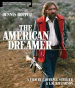 DVD Cover for The American Dreamer