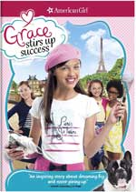 DVD Cover for An American Girl: Grace Stirs Up Success