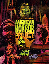 American Horror Project Vol. 2 Blu-Ray Cover