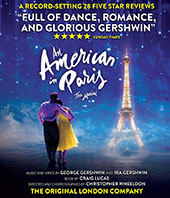 An American in Paris Blu-Ray Cover
