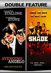 Avenging Angelo/Shade Double Feature DVD Cover