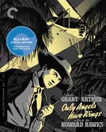 Only Angels Have Wings Criterion Collection Blu-Ray Cover