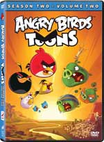 DVD Cover for Angry Birds Toons: Season Two - Volume Two