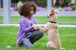 Quvenzhane Wallis leaves behind her hard-knock life in Annie.