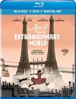April and the Extraordinary World Blu-Ray Cover