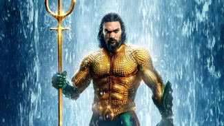 Jason Momoa joins the superhero party in the solo outing Aquaman.