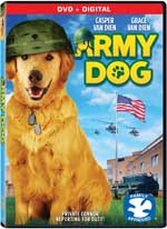 DVD Cover for Army Dog