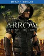 Arrow: The Complete Fourth Season Blu-Ray Cover