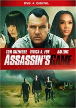 DVD Cover for Assassin's Game