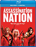 Assassination Nation Blu-Ray Cover