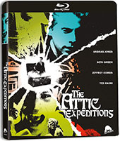 Attic Expeditions Blu-Ray Cover