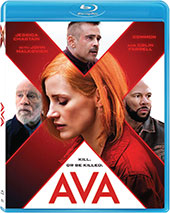 Ava Blu-Ray Cover