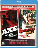 Axe/Kidnapped Coed Blu-Ray Cover