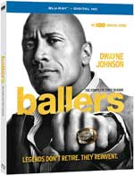 Ballers: The Complete First Season Blu-Ray Cover