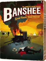 DVD Cover for Banshee: The Complete Second Season