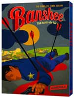 DVD Cover for Banshee: The Complete Third Season