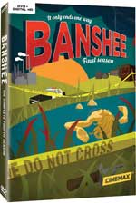 DVD Cover for Banshee Season Four