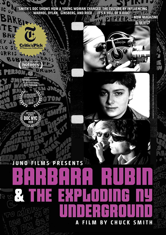 Barbara Rubin and the Exploding NY Underground DVD Cover