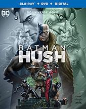Batman: Hush Blu-Ray Cover