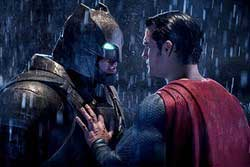 Henry Cavill and Ben Affleck square off in the top action fantasy movie of 2016, Batman v Superman: Dawn of Justice