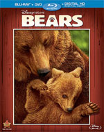 Disneynature's Bears Blu-Ray Cover