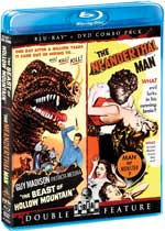 The Beast of Hollow Mountain and Neanderthal Man Double Feature