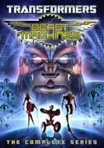 DVD Cover for Transformers: Beast Machines - The Complete Series