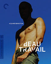 Beau Travail Criterion Collection Blu-Ray Cover