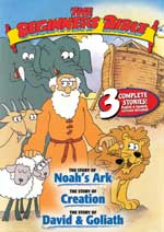 DVD Cover for The Beginner's Bible, Volume 2