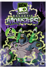 DVD Cover for Ben 10 Omniverse: Galactic Monsters