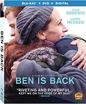 Ben is Back Blu-Ray Cover